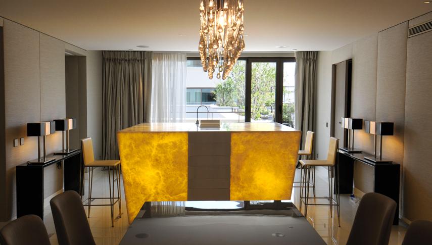 suite pr sidentielle au mandarin oriental champagne bar. Black Bedroom Furniture Sets. Home Design Ideas