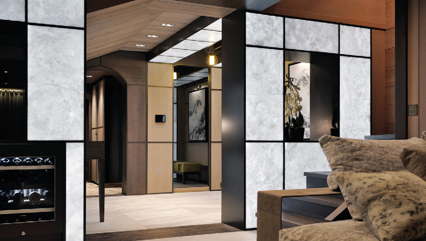 private residence courchevel solo walls. Black Bedroom Furniture Sets. Home Design Ideas