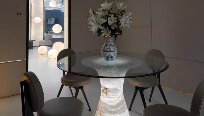 table ozara dining table. Black Bedroom Furniture Sets. Home Design Ideas